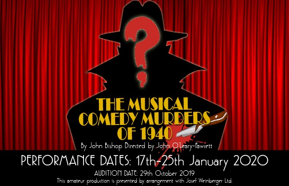The Musical Comedy Murders of 1940 Web Poster